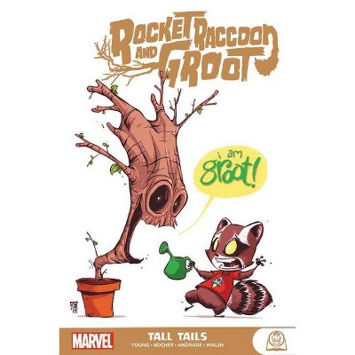 Rocket Raccoon & Groot: Tall Tails - (Paperback)
