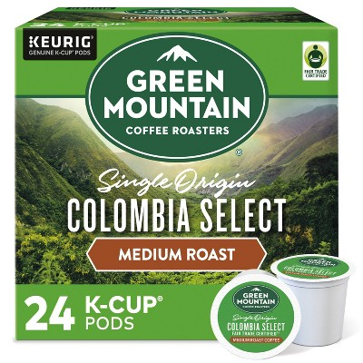Green Mountain Coffee Colombia Select Keurig K-Cup Coffee Pods - Medium Roast - 24ct