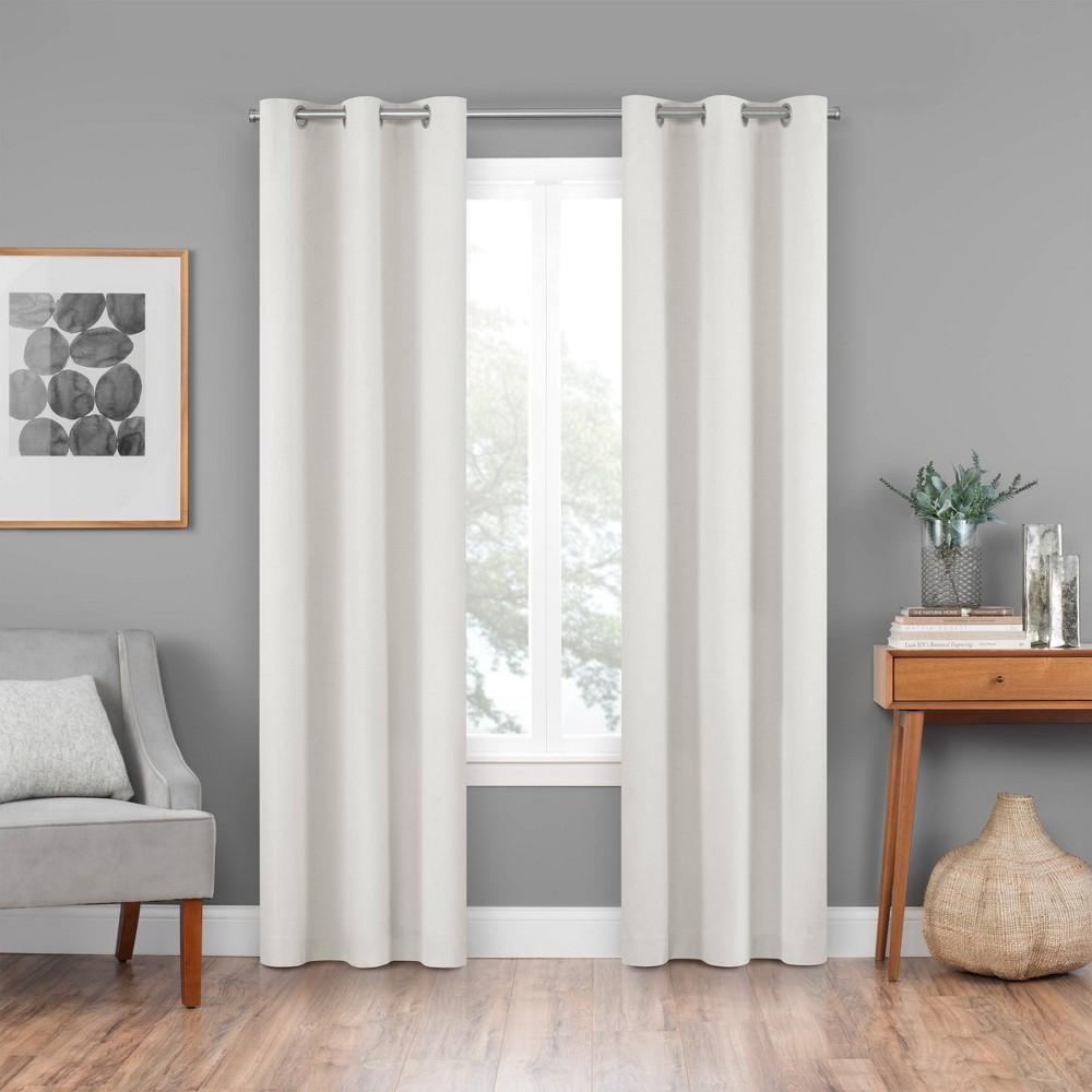 42 34 X84 34 Windsor Blackout Curtain Panel Cream Eclipse