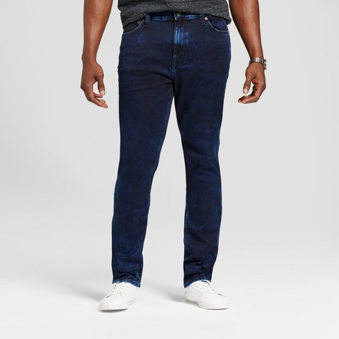 Men's Slim Straight Fit Jeans - Goodfellow & Co™ Blue - image 1 of 4