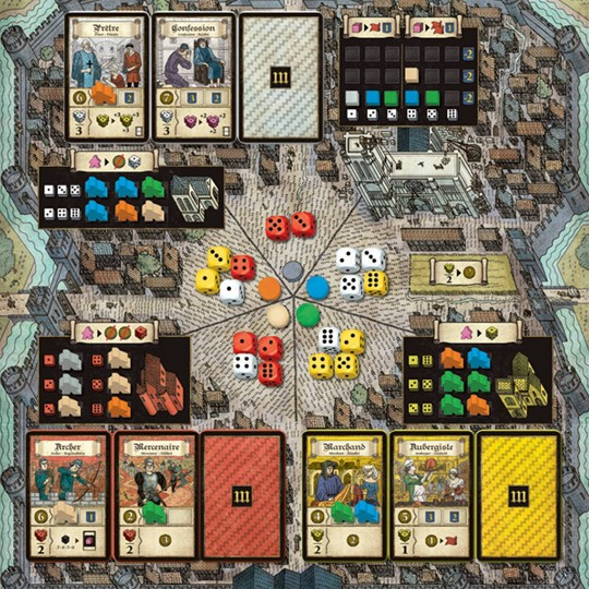 Pearl Games Troyes Board Game image number null