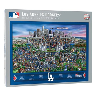 MLB Los Angeles Dodgers 500pc Find Joe Journeyman Puzzle