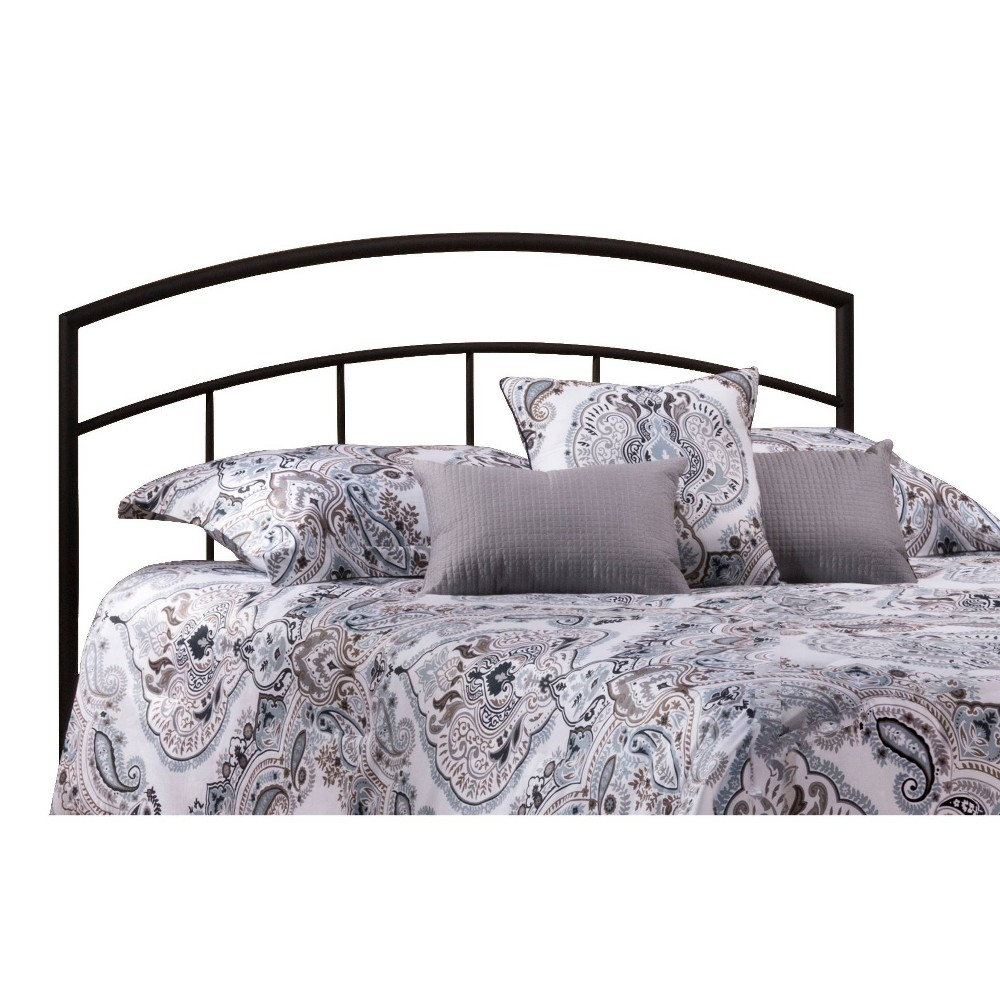 Full/Queen Julien Headboard with Frame Black - Hillsdale Furniture