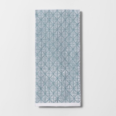 Sculpted Terry Kitchen Towel Turquoise - Project 62™