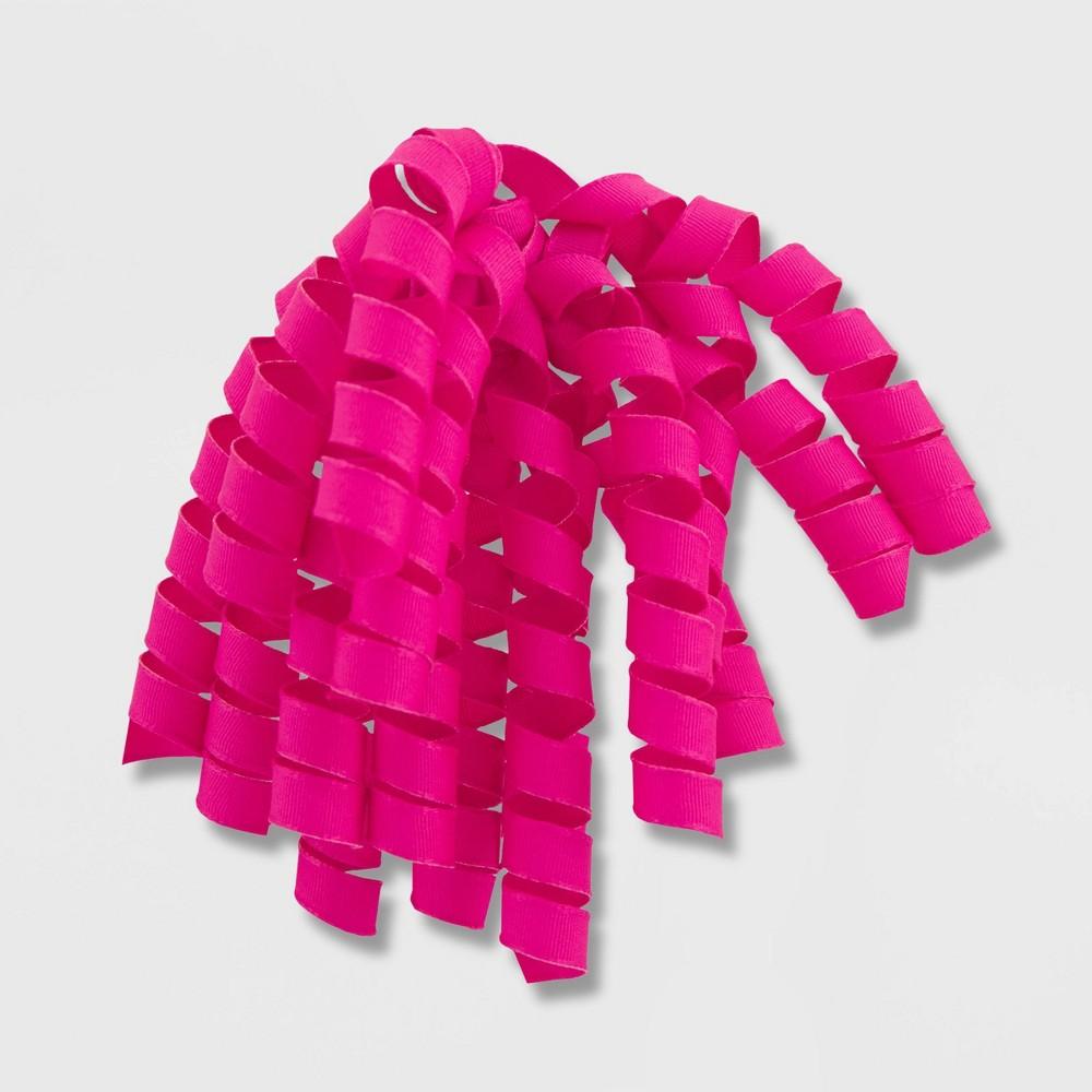 Grosgrain Fabric Swirl Dark Pink Spritz 8482