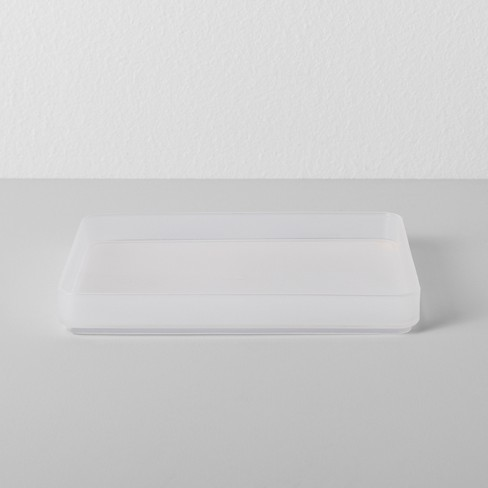 plastic bathroom tray made by design target. Black Bedroom Furniture Sets. Home Design Ideas