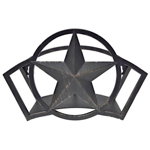 Liberty Garden Decorative Steel Liberty Star Garden Hose Butler Wall Storage - image 1 of 3