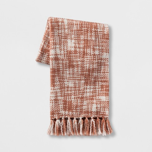 Marled Woven Throw Blanket - Threshold™ - image 1 of 1