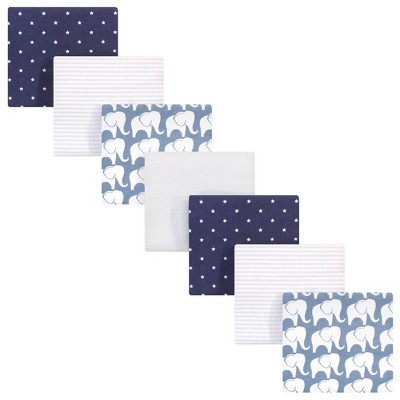 Hudson Baby Unisex Baby Cotton Flannel Receiving Blankets Bundle