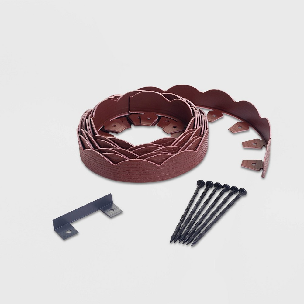 Image of 20' No-Dig Garden Edging Kit Red - EasyFlex