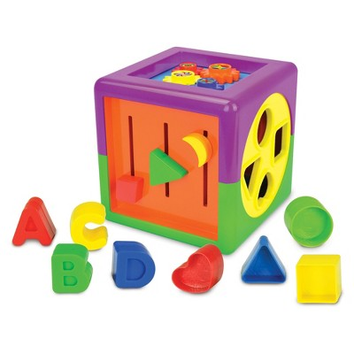 The Learning Journey Early Learning My First Activity Cube