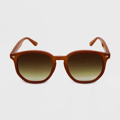 Women's Round Sunglasses - Wild Fable™ Brown