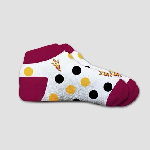NCAA Arizona State Sun Devils Polka Dot Infant Socks 2T-4T - image 1 of 1