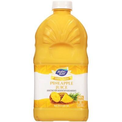 Ruby Kist 100% Pineapple Juice - 48 fl oz Bottle