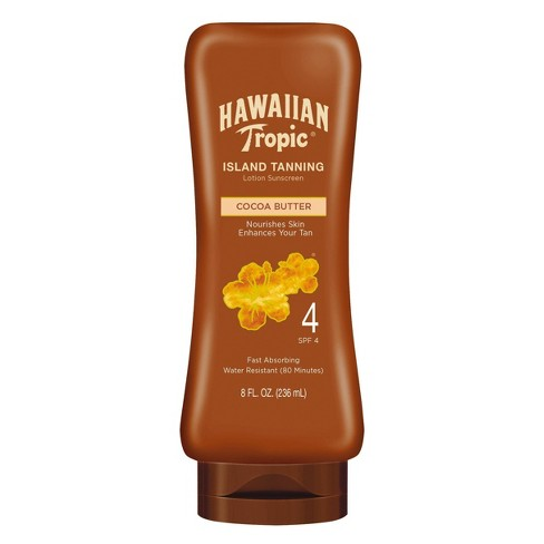 Hawaiian Tropic Dark Tanning Lotion Sunscreen - SPF 4 - 8oz - image 1 of 4