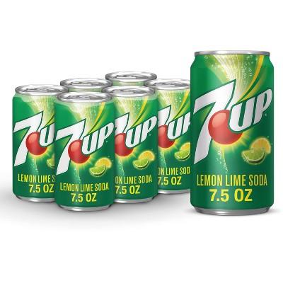 7UP Soda - 6pk/7.5 fl oz Cans