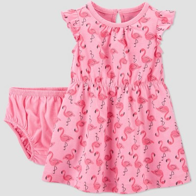 Baby Girls' Flaming Dress - Just One You® made by carter's Pink