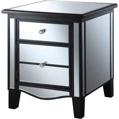 Genial Park Lane Mirrored End Table   Convenience Concepts : Target