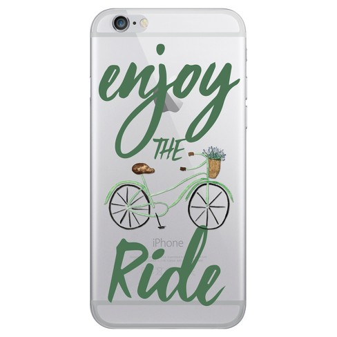 OTM Essentials Apple iPhone 8/7/6s/6 Hybrid Clear Case - Enjoy the Ride - image 1 of 1