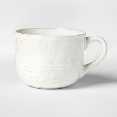 Cravings by Chrissy Teigen 22oz Stoneware Latte Mug White