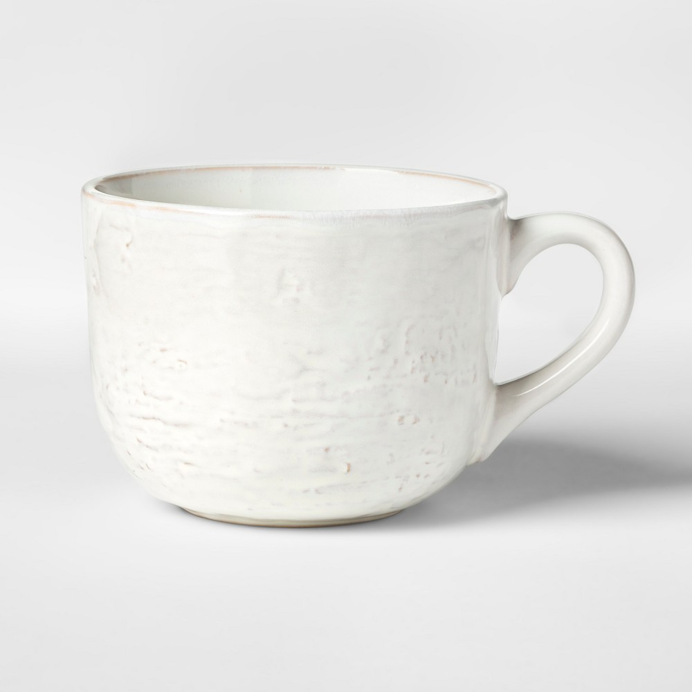 Image of Cravings by Chrissy Teigen 22oz Stoneware Latte Mug White