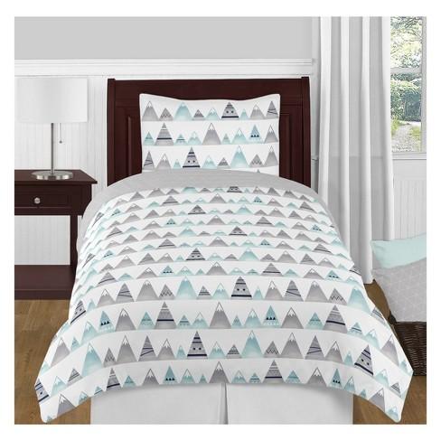 Twin 3pc Mountains Bedding Set - Sweet Jojo Designs - image 1 of 4