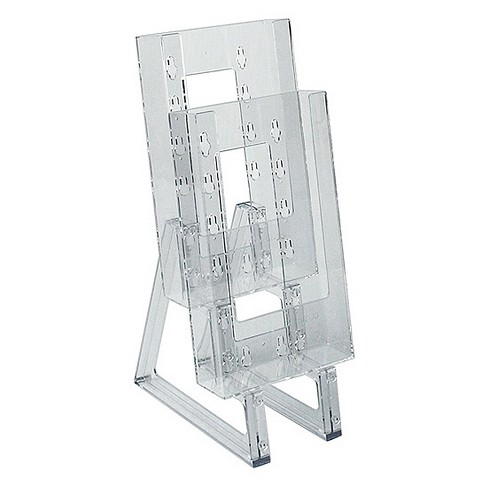 Azar® Two-tier Modular Trifold Brochure Holder 2ct - image 1 of 1