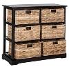 Keenan 6 Wicker Basket Storage Chest - Safavieh - image 3 of 4