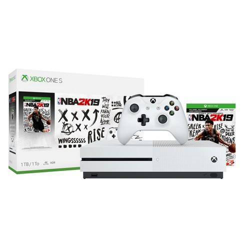Xbox One S 1TB NBA 2K19 Bundle - image 1 of 4