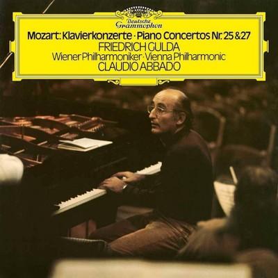 Friedrich Gulda/Claudio Abbado/Wiener Philharmonik - Mozart: Piano Concertos Nos. 25 & 27 (2 LP) (Vinyl)