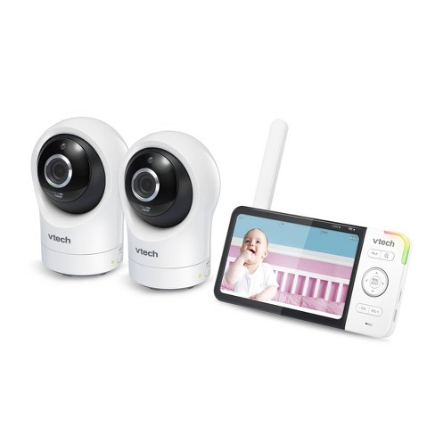 """VTech Digital Video Monitor with Remote Access and 2 Cameras 5""""- RM5764-2HD - image 1 of 3"""