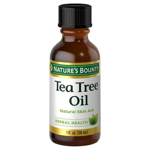 Nature's Bounty Natural Tea Tree Oil Herbal Supplement - 1oz - image 1 of 1