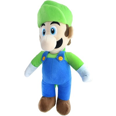 Accessory Innovations Company Super Mario Luigi 17 Inch Plush Backpack