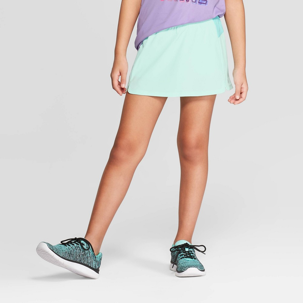 Girls' Tennis Skort - C9 Champion Mint Green XL