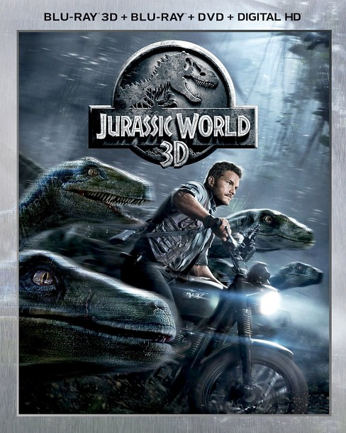 Jurassic World [3D] [Includes Digital Copy] [Blu-ray/DVD] - image 1 of 1