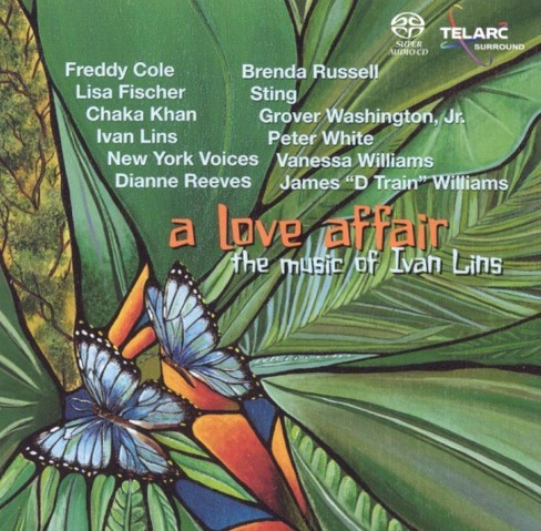 Various - Love affair-music of ivan lins (CD) - image 1 of 1