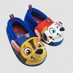 Toddler Boys' Nickelodeon PAW Patrol Loafer Slippers - Blue