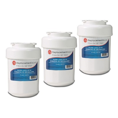 GE MWF Comparable Refrigerator Water Filter (3pk)