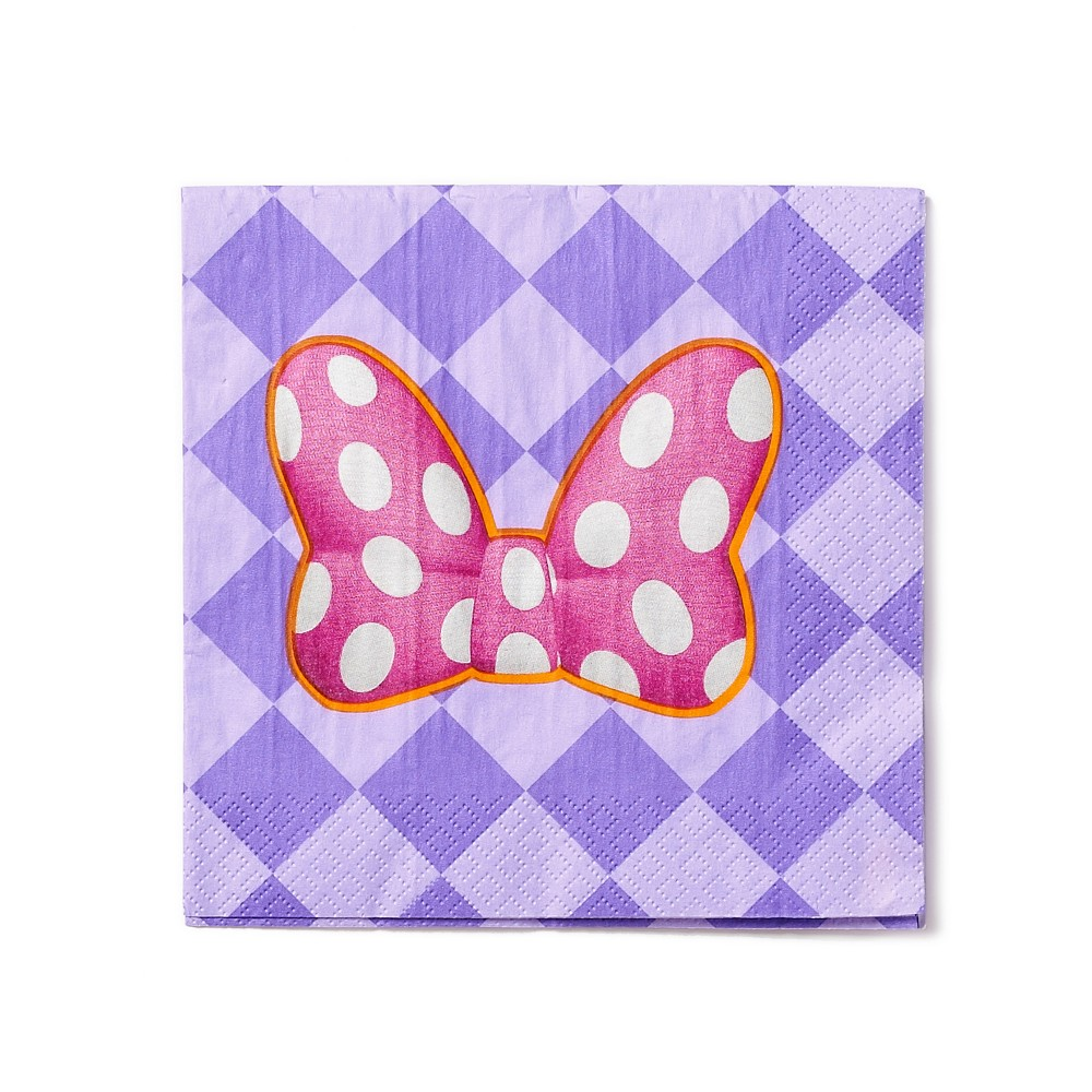 Image of 32ct Minnie Mouse Lunch Napkins