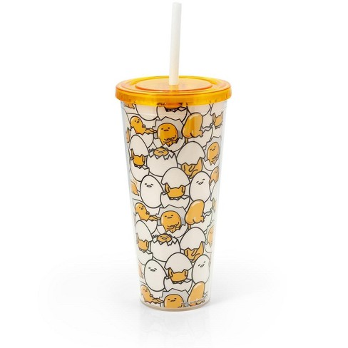 Seven20 Sanrio's Gudetama 20 Oz Insulated Tumbler With Lid & Straw - image 1 of 4
