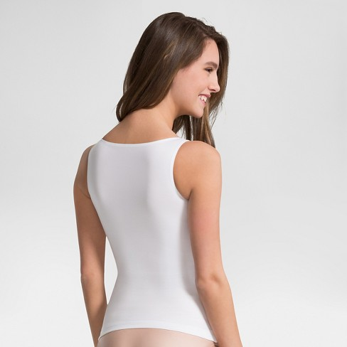 cded892c1c4da Assets® By Spanx® Women s In Or Out Shaping Tank - White M   Target
