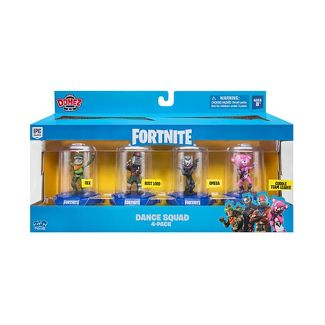 Domez Fortnite Dance Squad Action Figures 4pk