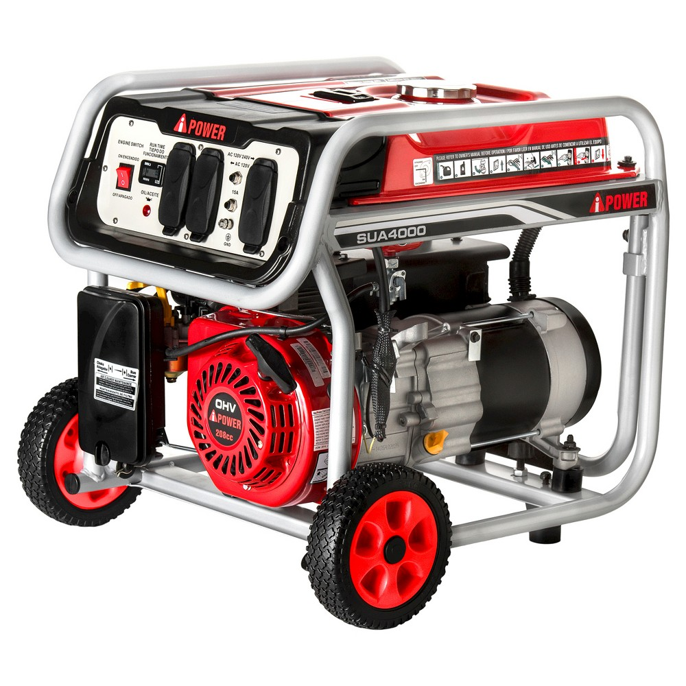 Image of 3750 Watt Gasoline Powered Portable Generator Manual Start - A-iPower