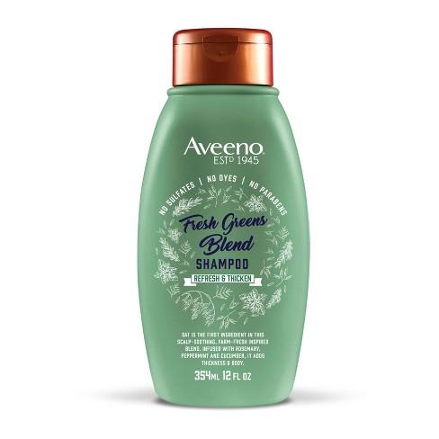 Aveeno Scalp Soothing Fresh Greens Blend Shampoo - 12 fl oz - image 1 of 4
