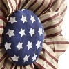 Lakeside Large Americana Wall Hanging Sunflower - Patriotic Home Accent Decor - image 3 of 4