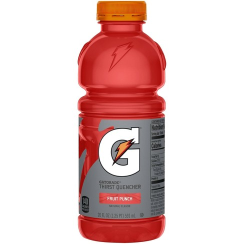 Gatorade Fruit Punch Sports Drink - 20 fl oz Bottle - image 1 of 4