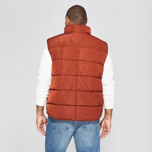 Mens Big Tall Puffer Vest Goodfellow Co153 Target