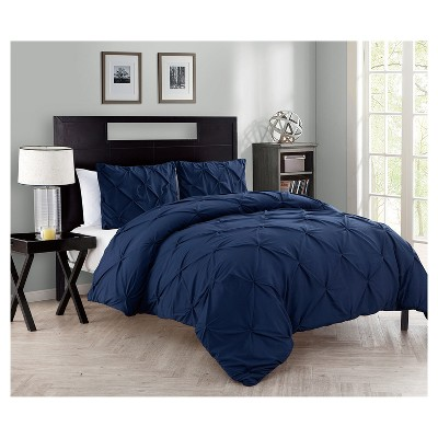 Navy Nilda Comforter Set (King)- VCNY