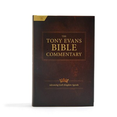 The Tony Evans Bible Commentary - by  Tony Evans & Csb Bibles by Holman (Hardcover)
