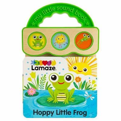Hoppy Little Frog - (Lamaze Activity Books) by  Rose Colombe (Board Book)